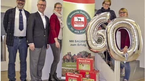 Das Salvana-Team feiert den 60. Geburtstag