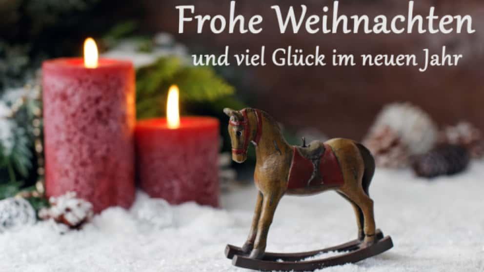 Frohe Weihnachten Besinnliche Feiertage.Wir Wünschen Frohe Weihnachten Und Besinnliche Feiertage